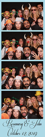 photo booth renta print from a wedding in Dallas