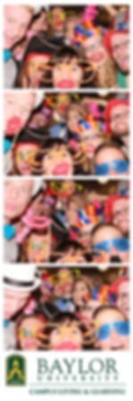 Waco photo booth rental for Baylor University