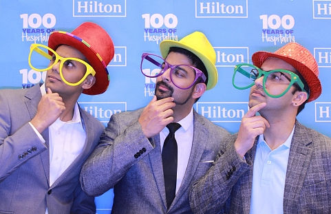 photo booth rental in dallas for a corporate conference for Hilton at kay bailey hutchinson convention center