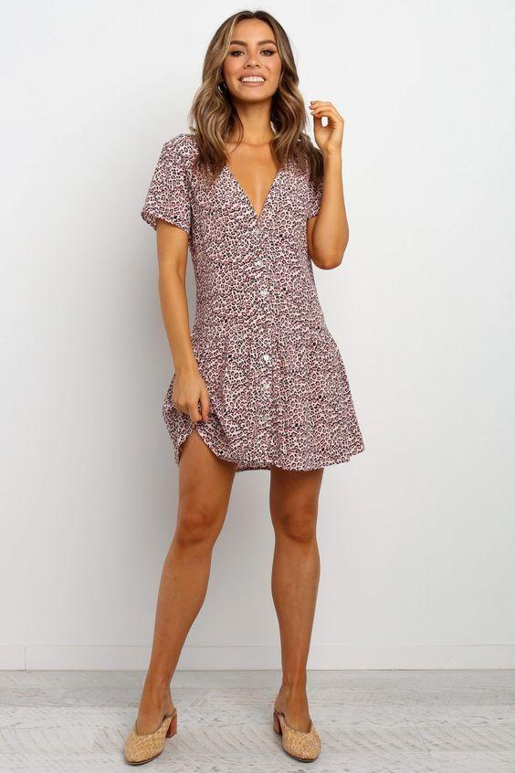 Gerrica Dress - Blush $59.95
