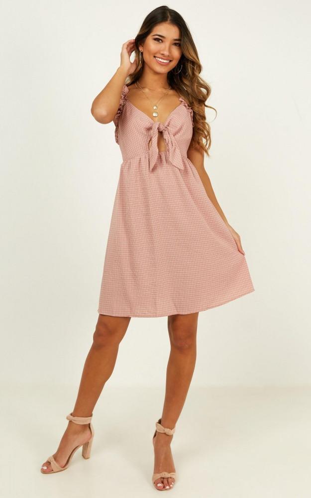 Let Her Go Dress In Blush Check Price: AU$59.95 AU$36.00