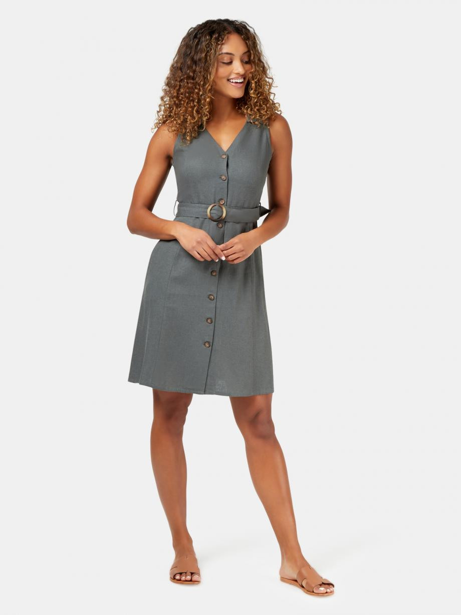 Monique Belted Linen Blend Dress WDR-09692 ★★★★★ ★★★★★4.6 out of 5 stars. Read reviews.	4.6 8 reviews $ 89.99 $ 69.99