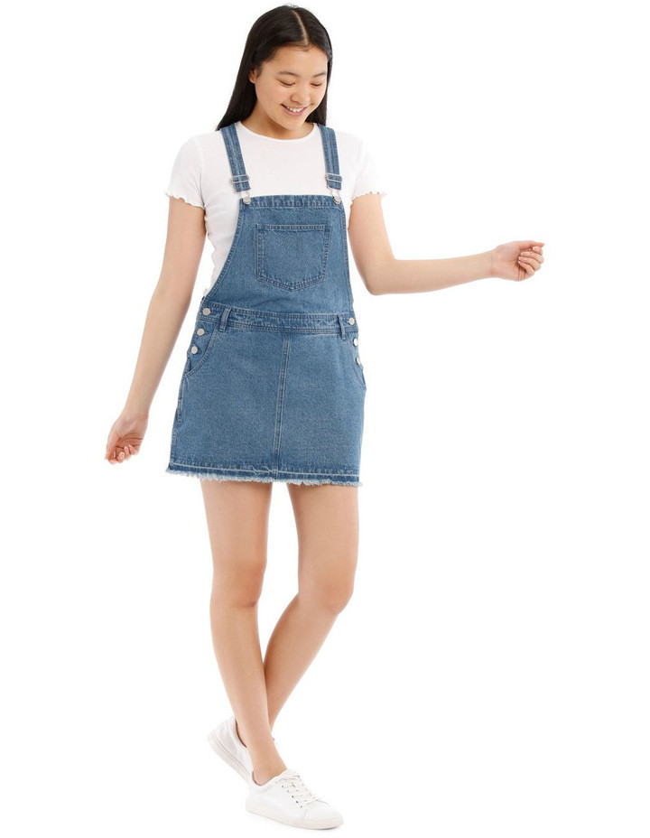 Classic Denim Pinafore $49.95