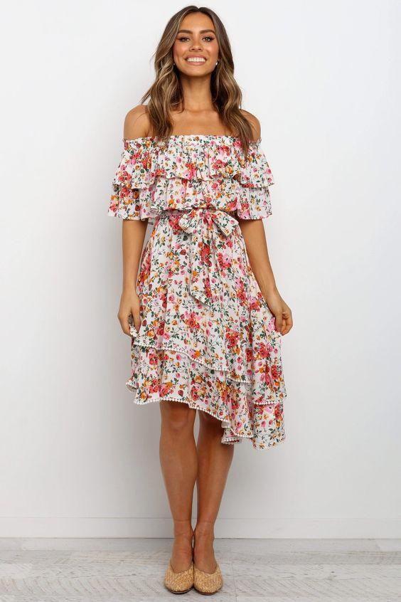 Iala Dress - White $79.95
