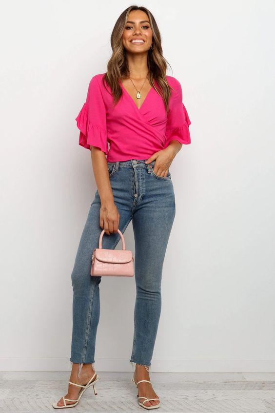 Lacen Top - Pink $39.95