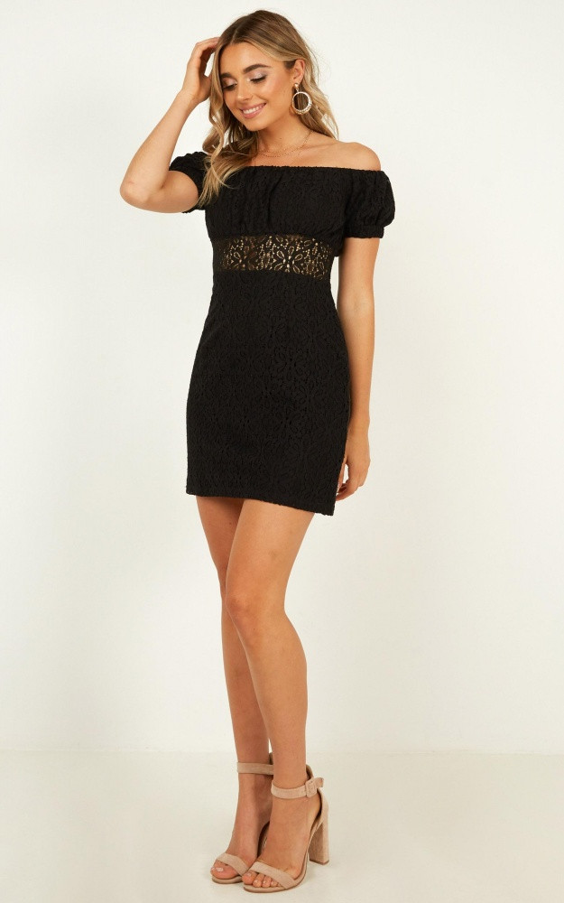 All My Girls Dress In Black Lace Price: AU$74.95 AU$29.00
