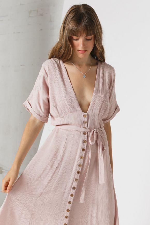 Musk Rose Dress $79.95