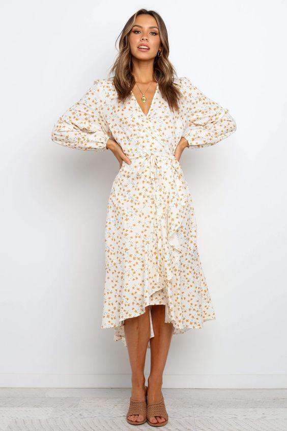 Rafaella Dress - Cream $69.95