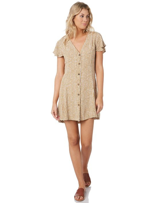 RIP CURL Paradise Cove Spot Dress Details $79.99