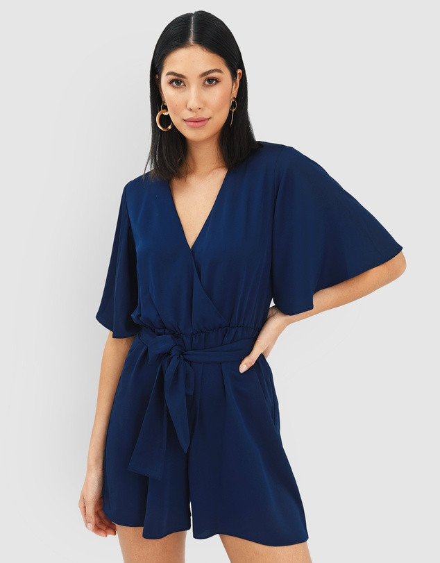 FORCAST  Nina Crossover Playsuit SALE $89.99 (Was $59.00)