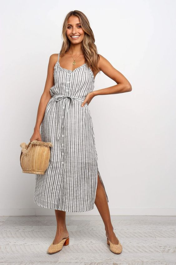 Goodwin Dress - Blue $79.95