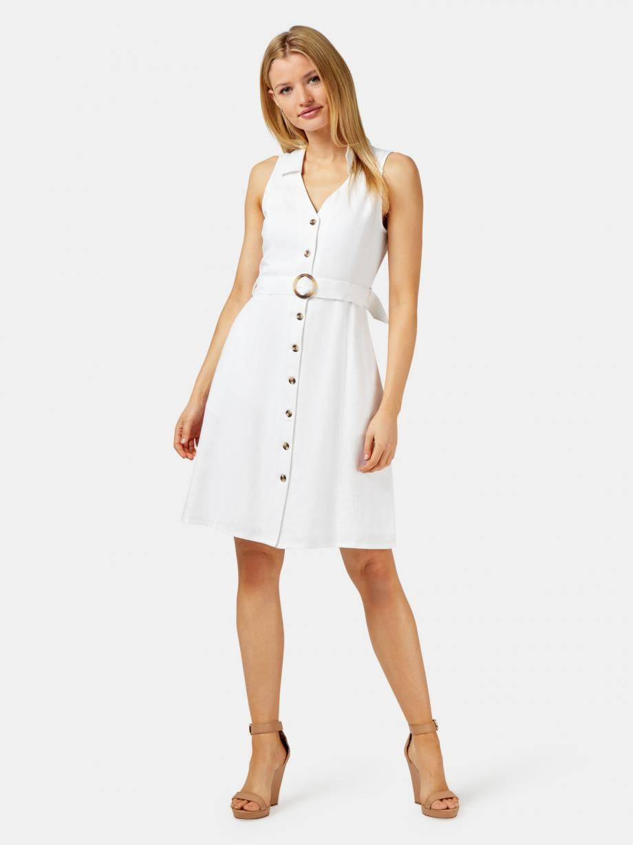 Monique Belted Linen Blend Dress WDR-09692 ★★★★★ ★★★★★4.6 out of 5 stars. Read reviews.	4.6 5 reviews $ 89.99 $ 69.99
