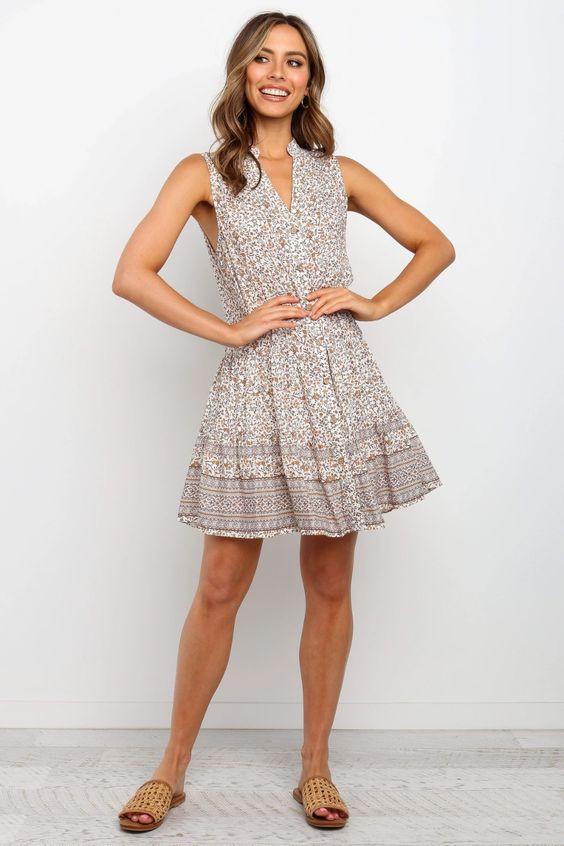 Kalita Dress - Ivory $69.95