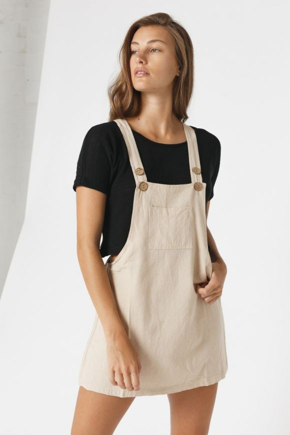 Cotton Pinafore Special Price $55.96 $69.95