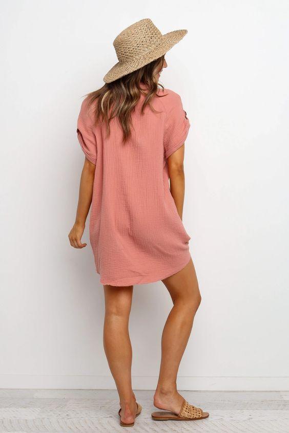 Sariah dress rose $69.99