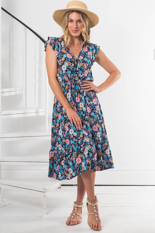 Edda Midi Dress Save $65.00 AUD