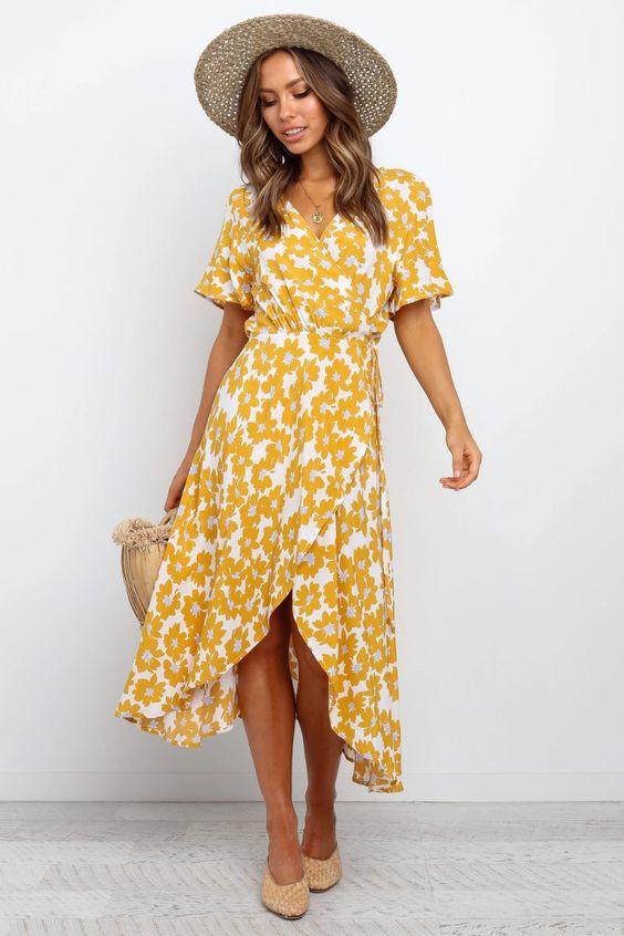 Zaralena Dress - Mustard $79.95 $55.95