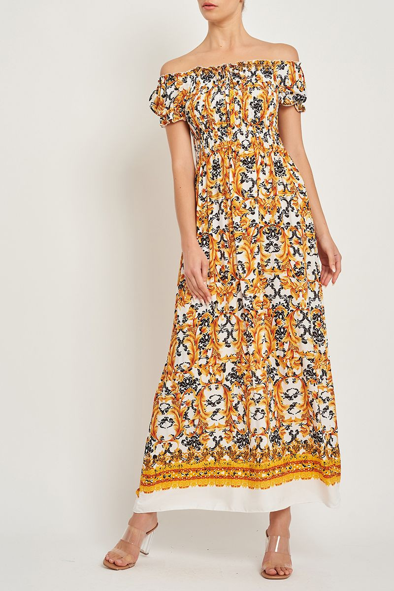RECOMMENDED FOR YOU   BIANCA OFF SHOULDER MAXI DRESS $19.99