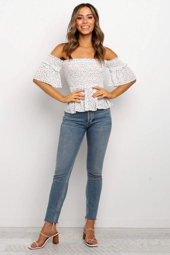 Lachae Top - White $59.95