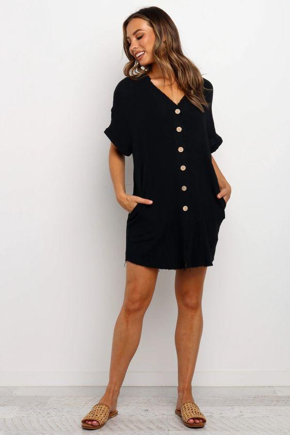 Sariah Dress - Black $69.95