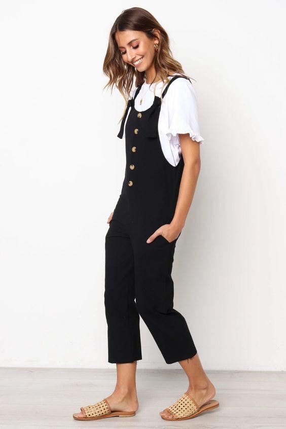 Arizona Jumpsuit - Black $59.95