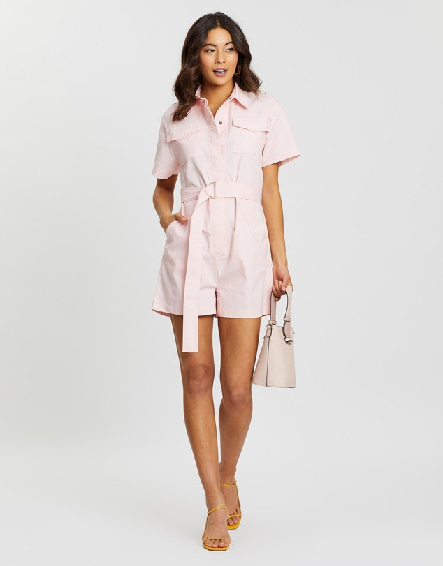 DAZIE West End Girl Short Boilersuit $89.99