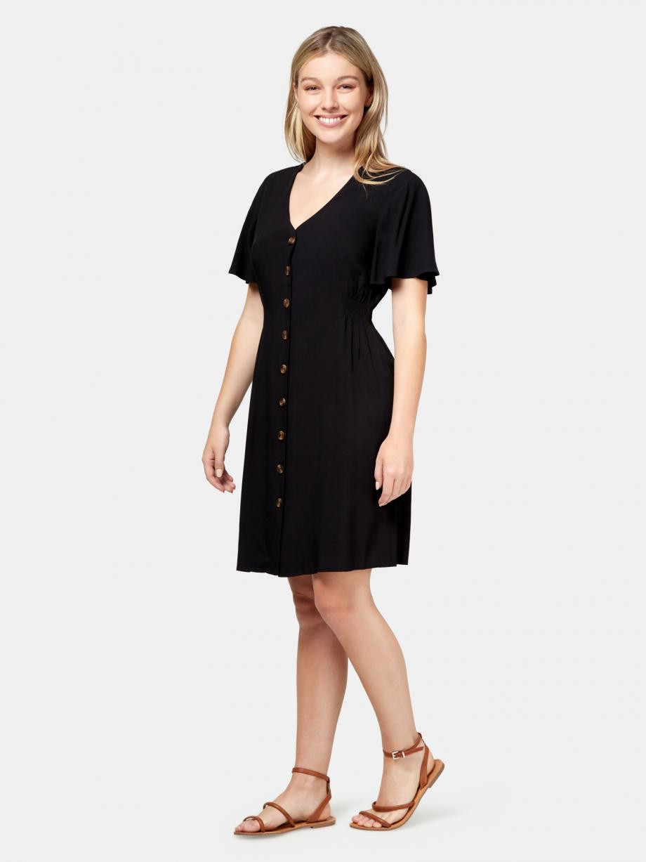 Casey Button Through Dress WDR-09472 ★★★★★ ★★★★★4 out of 5 stars. Read reviews.	4.0 9 reviews $ 69.99 $ 49.99