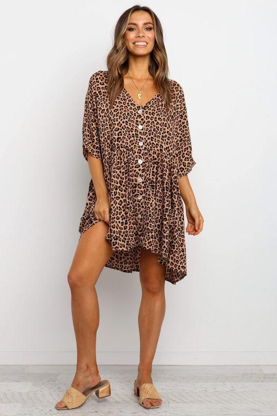 Tasha Dress - Tan $59.95