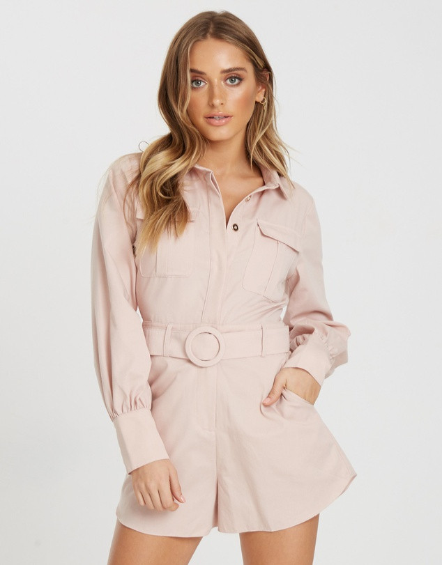 THE FATED  Devotion Pocket Playsuit SALE $59.98 (Was $119.95)