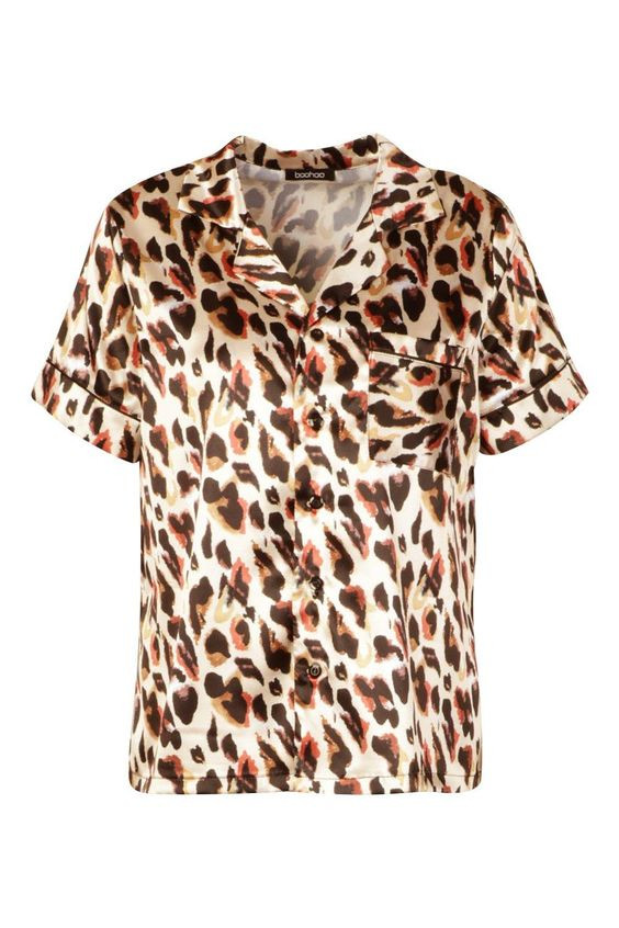 Mix & Match Leopard Print PJ Short Sleeve Top https://au.boohoo.com/mix-match-leopard-print-pj-short-sleeve-top/NZZ89178.html Product code: NZZ89178 Promotions 50% OFF EVERYTHING! $15.00 $30.00