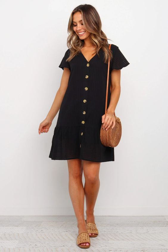 Kingstan Dress - Black $59.95