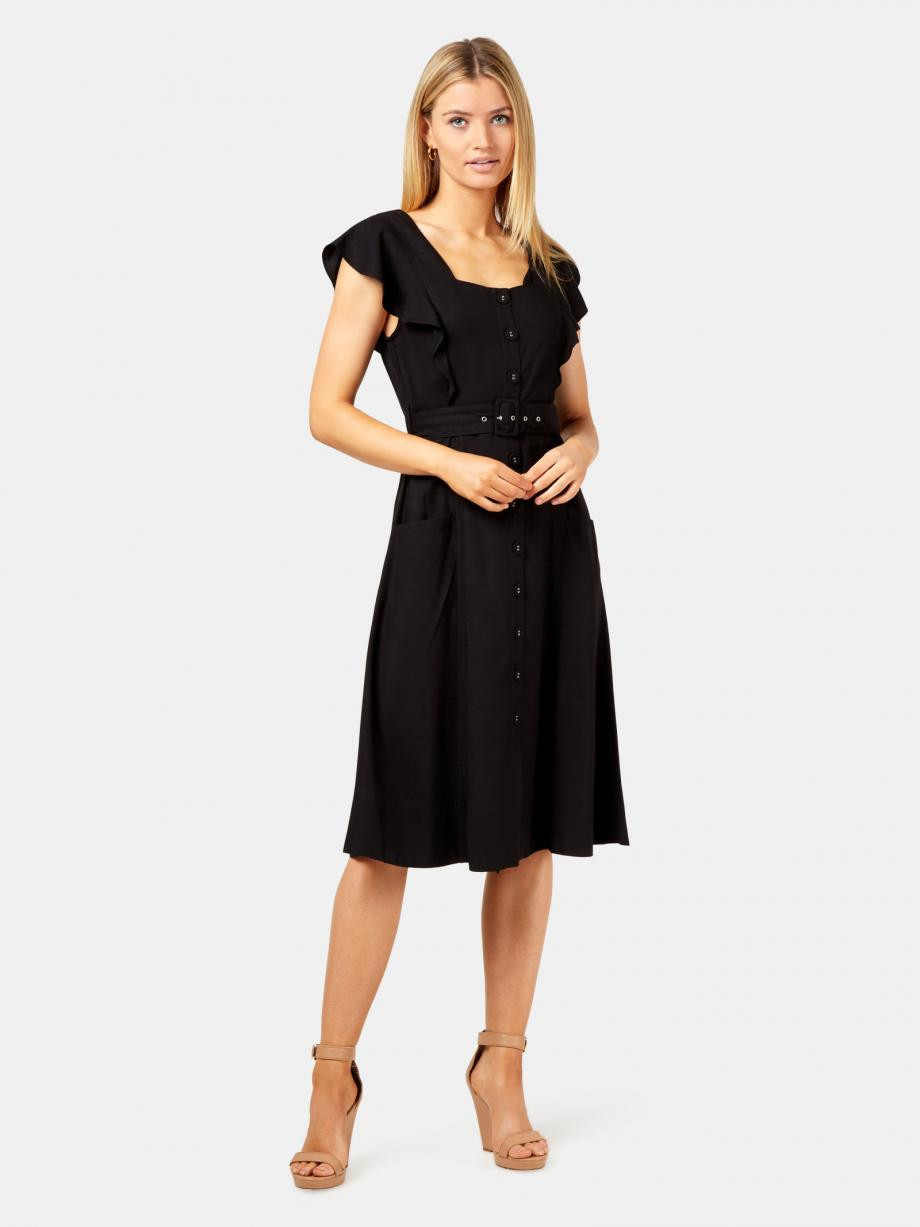 Lucia Squareneck Frill Dress WDR-09580 ★★★★★ ★★★★★4.7 out of 5 stars. Read reviews.	4.7 9 reviews $ 99.99