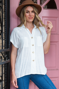 Brontide Top - White Save $39.00 AUD