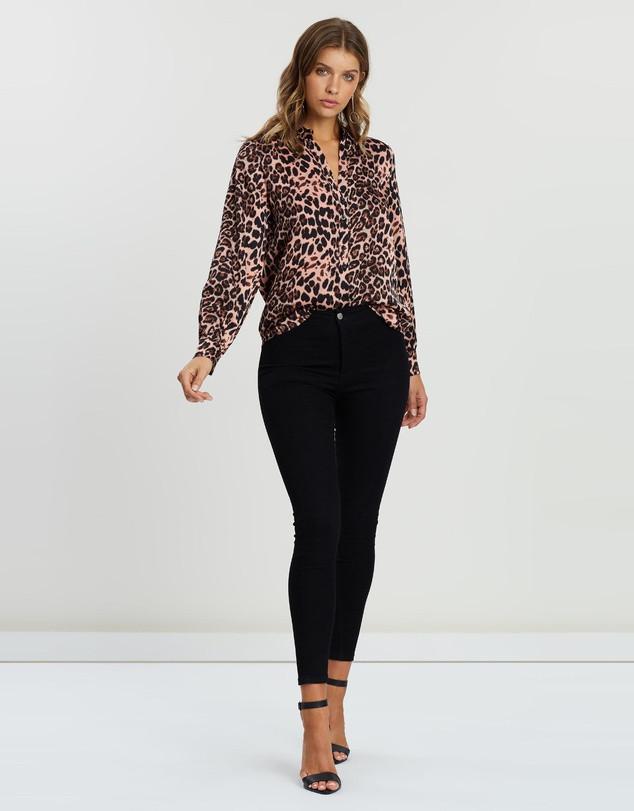Iconic ATMOS&HERE  Follow Esma Balloon Sleeve Shirt $69.99