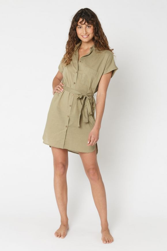 Denni Shirt Dress Special Price $44.00 $55.00