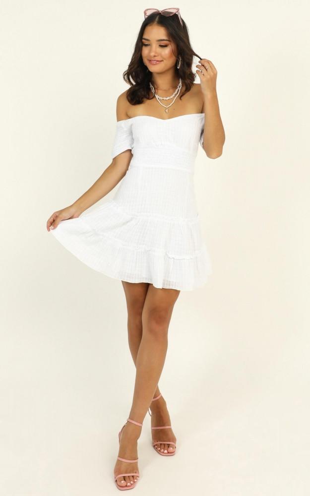 Positano Bound Dress In White Price: AU$69.95