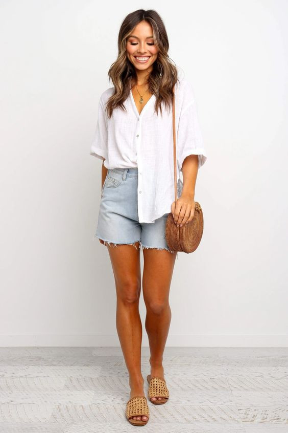 Dion Top - White $49.95