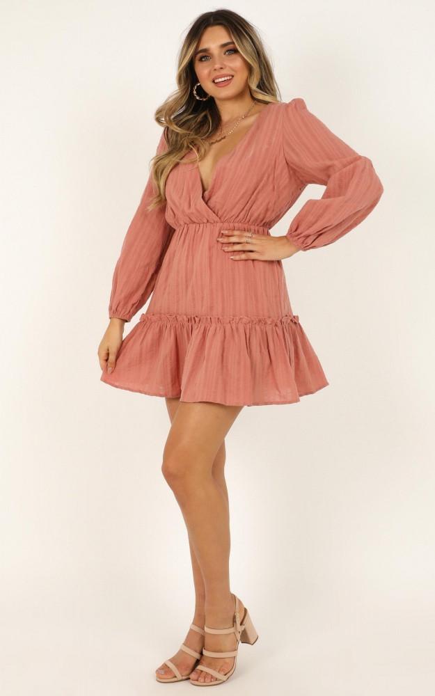 Fountain City Dress In Blush Price: AU$69.95 AU$49.00