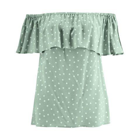 Short Sleeve Off Shoulder Top $12.00