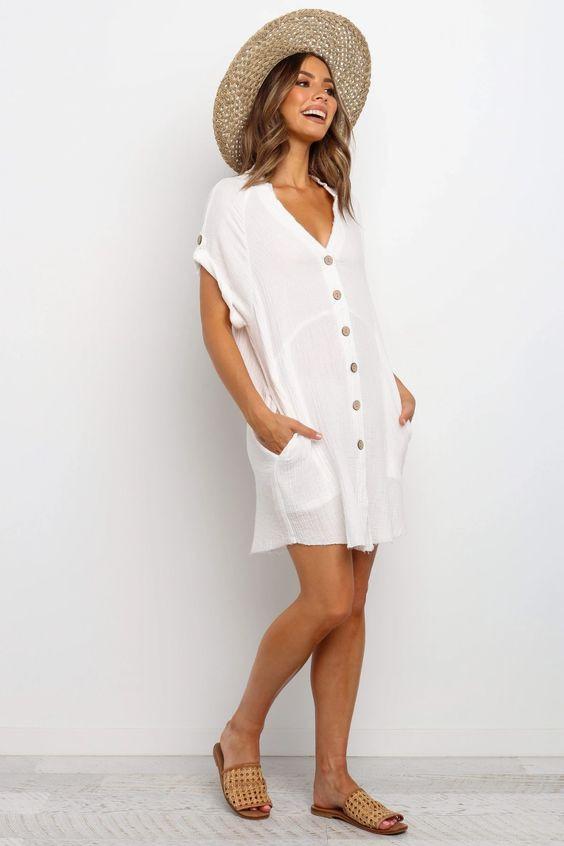 Sariah dress white $69.99