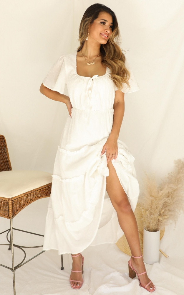 Sweetest Kind Dress In White $79.95