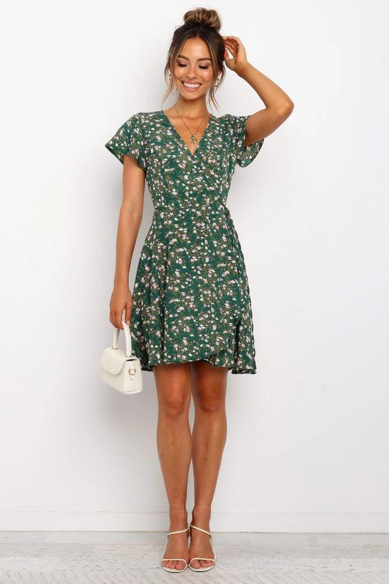 Pyper Dress - Green $59.95