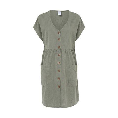 Short Sleeve Smock Dress $22.00