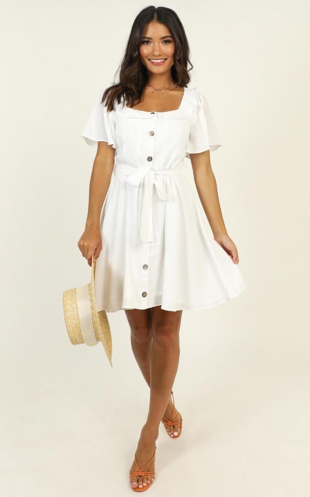 Katia Dress In White Price: AU$69.95