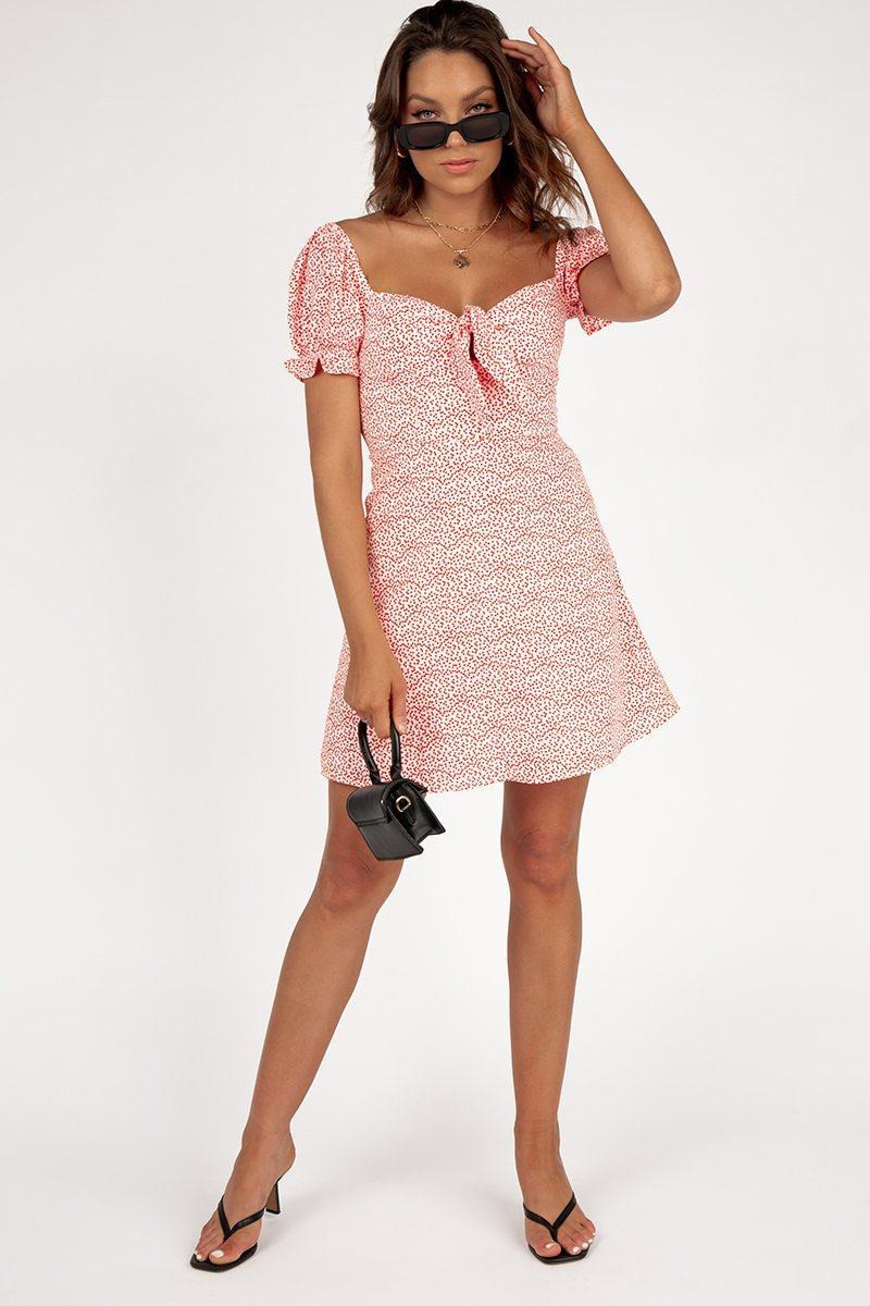 FRIENDS AND LOVERS WHITE MINI DRESS DISSH EXCLUSIVE  $69.99