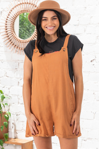 Lithgow Overalls - Rust Save $59.00 AUD