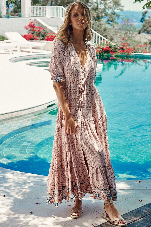 Tessa - Liberty Maxi Dress Save $89.00 AUD