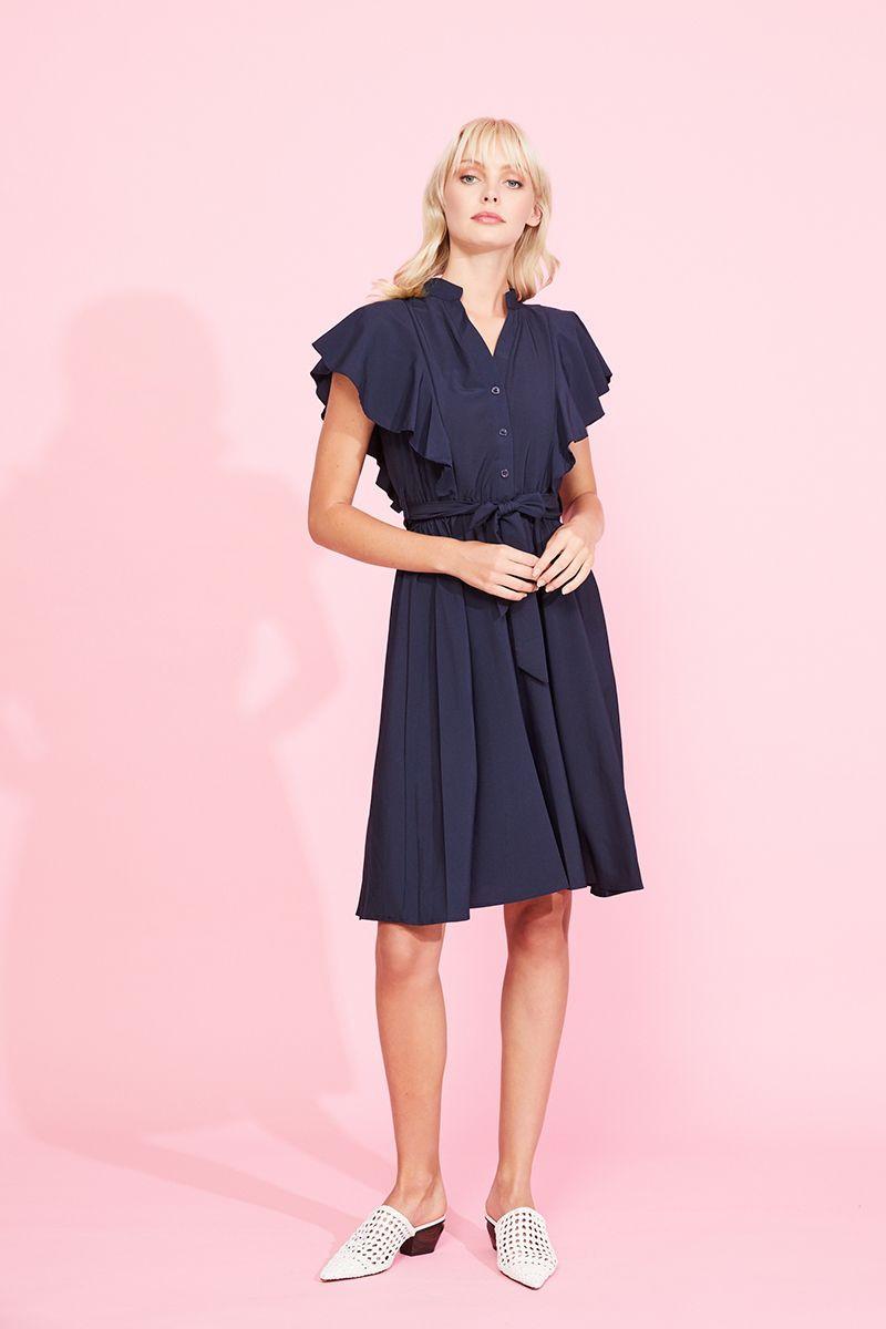 ESMA FLUTTER DRESS $29.99