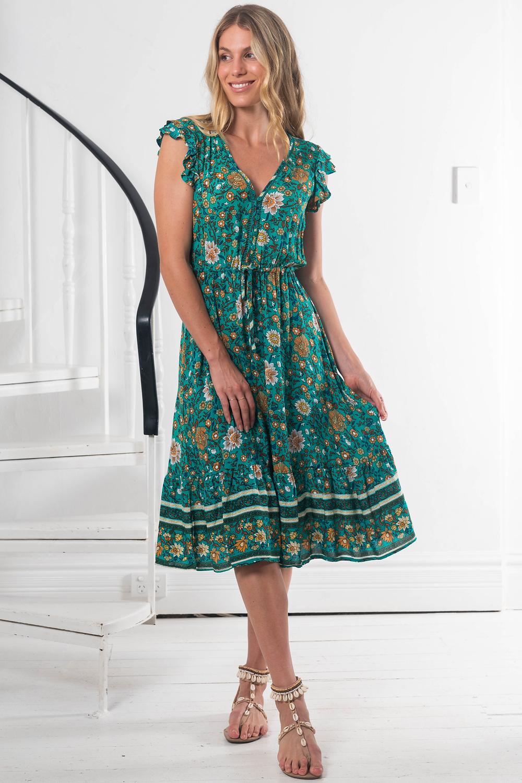 Temperence Midi Dress Save $65.00 AUD