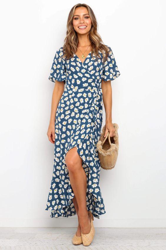 Romali Dress - Blue $59.95